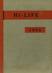 1946 Edition, Washington High School - Hi Life Yearbook (Washington, IA)
