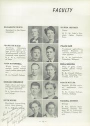 Page 17, 1949 Edition, Washington High School - Hi Life Yearbook (Washington, IA) online yearbook collection