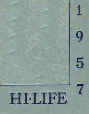1957 Edition, Washington High School - Hi Life Yearbook (Washington, IA)