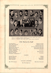 Page 14, 1928 Edition, Estherville High School - Ho Lo Co Yearbook (Estherville, IA) online yearbook collection