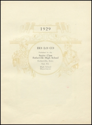 Page 7, 1929 Edition, Estherville High School - Ho Lo Co Yearbook (Estherville, IA) online yearbook collection