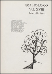 Page 7, 1952 Edition, Estherville High School - Ho Lo Co Yearbook (Estherville, IA) online yearbook collection