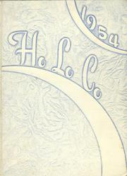 1954 Edition, Estherville High School - Ho Lo Co Yearbook (Estherville, IA)