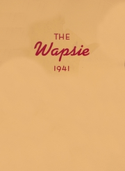 1941 Edition, Independence High School - Wapsie Yearbook (Independence, IA)