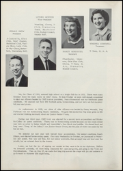 Page 14, 1955 Edition, Independence High School - Wapsie Yearbook (Independence, IA) online yearbook collection