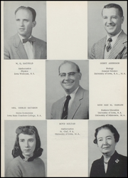 Page 9, 1955 Edition, Independence High School - Wapsie Yearbook (Independence, IA) online yearbook collection