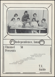 Page 5, 1956 Edition, Independence High School - Wapsie Yearbook (Independence, IA) online yearbook collection