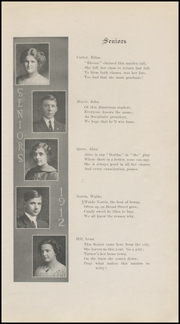 Page 11, 1912 Edition, Grinnell High School - Grinnellian Yearbook (Grinnell, IA) online yearbook collection