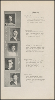 Page 15, 1912 Edition, Grinnell High School - Grinnellian Yearbook (Grinnell, IA) online yearbook collection