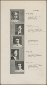 Page 16, 1912 Edition, Grinnell High School - Grinnellian Yearbook (Grinnell, IA) online yearbook collection