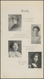 Page 4, 1912 Edition, Grinnell High School - Grinnellian Yearbook (Grinnell, IA) online yearbook collection