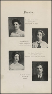 Page 6, 1912 Edition, Grinnell High School - Grinnellian Yearbook (Grinnell, IA) online yearbook collection
