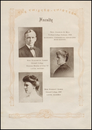 Page 14, 1913 Edition, Grinnell High School - Grinnellian Yearbook (Grinnell, IA) online yearbook collection