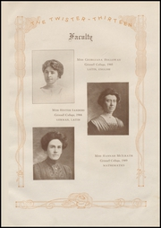 Page 15, 1913 Edition, Grinnell High School - Grinnellian Yearbook (Grinnell, IA) online yearbook collection