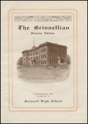 Page 7, 1913 Edition, Grinnell High School - Grinnellian Yearbook (Grinnell, IA) online yearbook collection