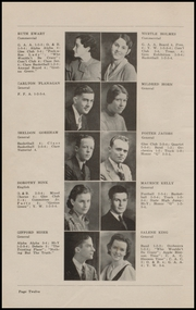 Page 14, 1934 Edition, Grinnell High School - Grinnellian Yearbook (Grinnell, IA) online yearbook collection