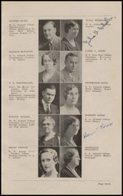 Page 9, 1934 Edition, Grinnell High School - Grinnellian Yearbook (Grinnell, IA) online yearbook collection