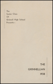 Page 3, 1938 Edition, Grinnell High School - Grinnellian Yearbook (Grinnell, IA) online yearbook collection