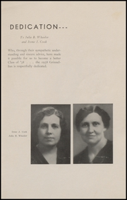 Page 5, 1938 Edition, Grinnell High School - Grinnellian Yearbook (Grinnell, IA) online yearbook collection