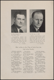 Page 8, 1939 Edition, Grinnell High School - Grinnellian Yearbook (Grinnell, IA) online yearbook collection
