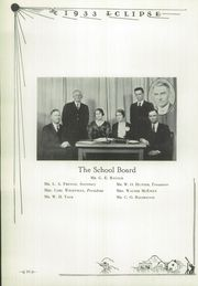 Page 14, 1933 Edition, Perry High School - Eclipse Yearbook (Perry, IA) online yearbook collection