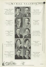 Page 17, 1933 Edition, Perry High School - Eclipse Yearbook (Perry, IA) online yearbook collection