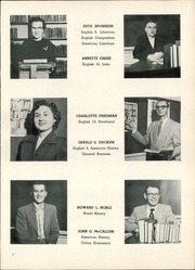 Page 11, 1955 Edition, Clear Lake Community High School - Lions Tale Yearbook (Clear Lake, IA) online yearbook collection