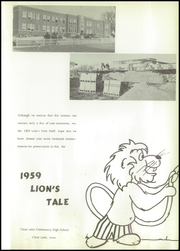 Page 5, 1959 Edition, Clear Lake Community High School - Lions Tale Yearbook (Clear Lake, IA) online yearbook collection