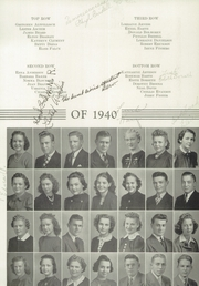 Page 17, 1940 Edition, Decorah High School - Viking Yearbook (Decorah, IA) online yearbook collection