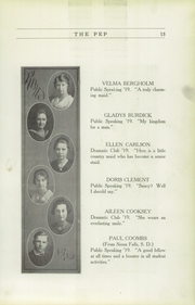 Page 17, 1919 Edition, Red Oak High School - Pep Yearbook (Red Oak, IA) online yearbook collection