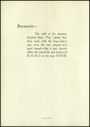 Page 8, 1930 Edition, Red Oak High School - Pep Yearbook (Red Oak, IA) online yearbook collection