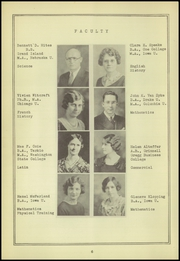 Page 10, 1934 Edition, Red Oak High School - Pep Yearbook (Red Oak, IA) online yearbook collection