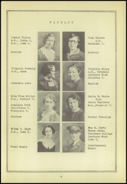 Page 11, 1934 Edition, Red Oak High School - Pep Yearbook (Red Oak, IA) online yearbook collection