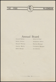 Page 12, 1922 Edition, Algona High School - Bulldog Yearbook (Algona, IA) online yearbook collection