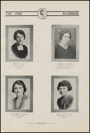 Page 17, 1922 Edition, Algona High School - Bulldog Yearbook (Algona, IA) online yearbook collection