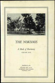 Page 7, 1930 Edition, Humboldt High School - Nokomis Yearbook (Humboldt, IA) online yearbook collection