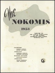 Page 5, 1953 Edition, Humboldt High School - Nokomis Yearbook (Humboldt, IA) online yearbook collection