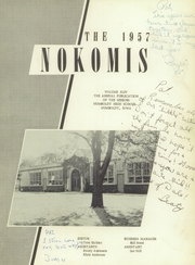 Page 5, 1957 Edition, Humboldt High School - Nokomis Yearbook (Humboldt, IA) online yearbook collection