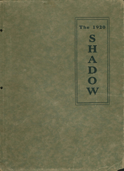 Page 1, 1920 Edition, New Hampton High School - Shadow Yearbook (New Hampton, IA) online yearbook collection
