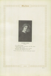 Page 13, 1923 Edition, New Hampton High School - Shadow Yearbook (New Hampton, IA) online yearbook collection