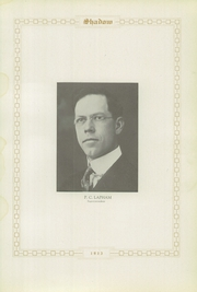 Page 9, 1923 Edition, New Hampton High School - Shadow Yearbook (New Hampton, IA) online yearbook collection