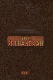 Page 1, 1931 Edition, Shenandoah High School - Shenandoah Yearbook (Shenandoah, IA) online yearbook collection