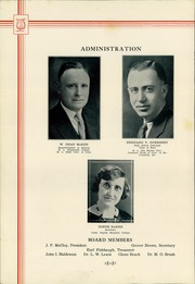 Page 10, 1932 Edition, Shenandoah High School - Shenandoah Yearbook (Shenandoah, IA) online yearbook collection