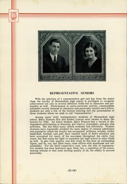Page 14, 1932 Edition, Shenandoah High School - Shenandoah Yearbook (Shenandoah, IA) online yearbook collection