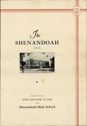 Page 5, 1932 Edition, Shenandoah High School - Shenandoah Yearbook (Shenandoah, IA) online yearbook collection