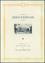 Page 7, 1934 Edition, Shenandoah High School - Shenandoah Yearbook (Shenandoah, IA) online yearbook collection