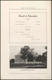 Page 14, 1921 Edition, Le Mars Community High School - Bark Yearbook (Le Mars, IA) online yearbook collection