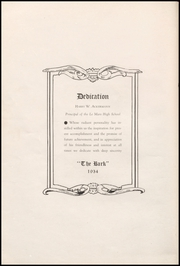 Page 6, 1934 Edition, Le Mars Community High School - Bark Yearbook (Le Mars, IA) online yearbook collection