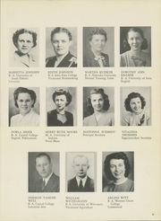 Page 9, 1947 Edition, Le Mars Community High School - Bark Yearbook (Le Mars, IA) online yearbook collection