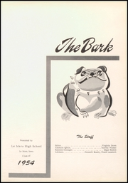 Page 5, 1954 Edition, Le Mars Community High School - Bark Yearbook (Le Mars, IA) online yearbook collection